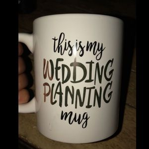 """This Is My Wedding Planning Mug"""